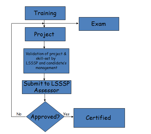 Six Sigma Black Belt Certification Process